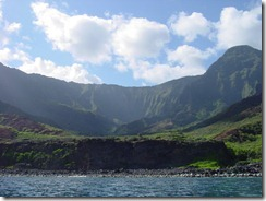 Hawaiian valley - Napali Coast 1  4-27